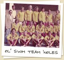 Ol' Swim Team 'Noles